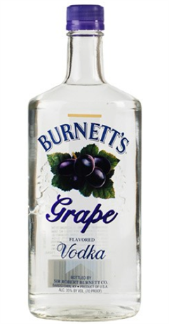 Burnett's Vodka Grape